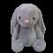 ตุ๊กตากระต่ายน้อยSlurby ตุ๊กตากระต่ายน้อยสีเทา ขนาด 30 ซม.