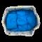 ที่นอนเด็กแบบมีขอบลายน้องหมีสุดน่ารัก สีฟ้าสดใส ขนาด 50*60 ซม. คุณภาพดีเยี่ยม เกรด A