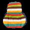 ผ้ารองเบาะ ผ้ารองคาร์ซีทสำหรับเด็ก สีสันสดใส ขนาด 50*78 ซม. คุณภาพดี เกรด A