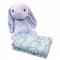 ผ้าขนหนูลาย Rabbit Skip ผ้าเช็ดตัว ผ้ารับไหว้ 27x54 นิ้ว จำนวน 1 ผืน พร้อมส่ง