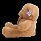 ตุ๊กตาหมีเทดดี้ หน้าสวย หมีคุ้กกี้ ขนนุ่ม ผูกริบบิ้น น่ารักมาก ขนาด 75 ซม. มี 3 สี พร้อมส่ง
