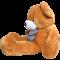 ตุ๊กตาหมีจัมโบ้ หมีตัวใหญ่มาก หมียักษ์ ขนาด 2.4 เมตร สีน้ำตาล