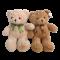 ตุ๊กตาหมีเทดดี้ หน้าสวย หมีคุ้กกี้ ขนนุ่ม ผูกริบบิ้น น่ารักมาก ขนาด 60 ซม. มี 2 สี พร้อมส่ง
