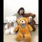 ตุ๊กตาหมี หน้ายิ้ม หมีขนนุ่ม ขนาด 30 นิ้ว หรือ 80 ซม. สีน้ำตาล สีขาว สีช๊อคโกแลต พร้อมส่ง