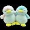 ตุ๊กตาแพนกวิน นุ่มนิ่ม น่ารัก ขนาด 30 ซม. สีฟ้า พร้อมส่ง