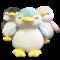 ตุ๊กตาแพนกวิน นุ่มนิ่ม น่ารัก ขนาด 30 ซม. สีเทา พร้อมส่ง