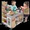 Melissa & Doug รุ่น 9340 Fresh Mart Grocery Store ชุดซุปเปอร์ เล่นแบบเสริมจินตนาการ ส่งเสริมความสนใจในสิ่งรอบข้างและชีวิตจริง