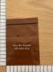 """ถุงซิปล็อคสีชาโปร่ง 9x13 ซม. (3.5""""x5"""")"""