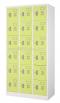 Welco WLK018 ตู้ล็อคเกอร์ ชนิด 18 ประตู กุญแจอิสระ