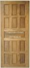 ประตูไม้สัก สิบสามลูกฟัก