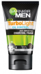 Garnier Men Turbo Light Oil Control Purify & Brighten Charcoal Black Foam