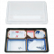 Sushi Tray 5 Cavity NU-230 Minoset with clear cover