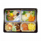 Sushi Tray 5 Cavity NU-230 Minoset with black cover