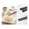 Plastic (SPS resin) Chopsticks Size 23 cm. Black (50 Pair)
