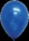 ลูกโป่งกลมเนื้อมุก 12 นิ้ว สีน้ำเงิน