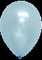 ลูกโป่งกลมเนื้อมุก 12 นิ้ว สีฟ้าอ่อน