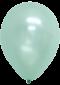 ลูกโป่งกลมเนื้อมุก 12 นิ้ว สีเขียวพาสเทล