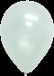 ลูกโป่งกลมเนื้อมุก 12 นิ้ว สีขาว