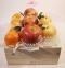 RB084  กระเช้าผลไม้ ส้ม+แอปเปิ้ล+สาลี่