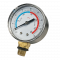 Plastic Pressure Gauge with O-Ring