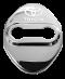 ฝาปิดรูน็อตสแตนเลสสีรมดำ ฝาปิดรูน็อต สำหรับรถยนต์ อัลพาร์ด เวลไฟร์ ALPHARD / VELLFIRE รุ่นปี 2015-2021