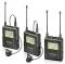 ไมโคโฟน ไร้สาย UWMIC9 (RX9+TX9+TX9) 96-Channel Digital UHF Wireless Lavalier Microphone System