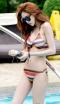 ชุดว่ายน้ำเซต 3 ชิ้นลายโบฮิเมียนสวยๆ