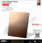 Ti-Rose Golden Vibration   สีโรสโกลด์ ขัดไร้ทิศทาง