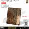 Wood Mirror Ti-Rose with Anti-finger print ลายไม้-สีโรสโกลเงา(ป้องกันลายนิ้วมือ)