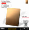 Ti-Copper Vibration สีคอปเปอร์ทองแดง ขัดไร้ทิศทาง