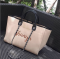 Brown Canvas Travel Tote