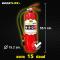 """ถังดับเพลิง สีแดง """"ชนิดผงเคมีแห้ง""""สูตรพิเศษ (ขนาด 15 ปอนด์) ดับไฟ A B (C)"""