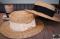 BOATER CHIC STRAW HAT