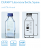 Laboratory bottles 100 ml