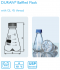 Baffled Flask with membrane screw cap 500 mL