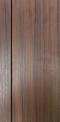 ประตูUPVC ผิวหน้าลายไม้ สีBrownieOak บานเรียบ เซาะร่อง 1 เส้นตรง