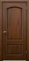 ประตูไม้จำปาเอ็นจิเนียร์บานลูกฟัก2ช่องโค้ง (ไม่รวมทำสี)