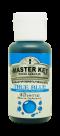 สีน้ำสีฟ้าคราม ตรามาสเตอร์คีย์ ขนาด 35 มล.                 MASTER KEY FOOD COLOUR (TRUE BLUE) 35ML