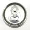 กระป๋องอลูมิเนียม 500 มล. Aluminium Disposable Beverage/Beer Cans Silver Skin With Lids