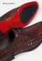 รองเท้าผู้ชายหนังแท้แบบผูกเชือก Brown business Shoes in Genuine Leather