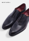 รองเท้าผู้ชายหนังแท้ทางการแบบผูกเชือกสีเทา GOODYEAR WELTED WHOLECUT OXFORD LACED-UP LEATHER SHOES FOR BUSINESS AND FORMAL WEAR MAC&GILL