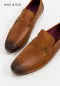 Men LEATHER LOAFERS SHOES