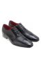 LEATHER PERFORATED LACE UP SHOES GOODYEAR WELTED SHOES