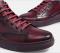 รองเท้าบู้ทหนังแท้สีแดงแบบผูกเชือก รองเท้าผู้ชาย แบบทางการและออกงานหรู