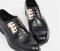 Mac & Gill Croc-Skin Gilded-Steel Lace-Up Shoes