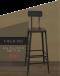 Bar Chair - Starbuck เก้าอี้บาร์สตาร์บัค / เบาะไม้ / มีพนัก