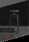 Bar Stool - X Leg เก้าอี้บาร์ ขาไขว้