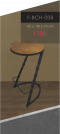 Bar Stool - Sprial   เก้าอี้บาร์ขาเกลียว-ไม่มีพนัก