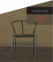 Slim Chair-Black เก้าอี้สลิม