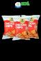 Chicky Shake ขนมอกไก่อบกรอบ โปรตีนสูง 3 ซอง (รสหมึกย่าง)